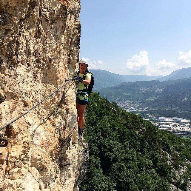 If you your idea is to go on a via ferrata whilst on Lake Garda, you should try this one in Mori! A short but physically tough via ferrata with a constant view on Mori and its sorroundings. Natasha has tried it, ask her any information about it and enjoy the thrill! ☀️