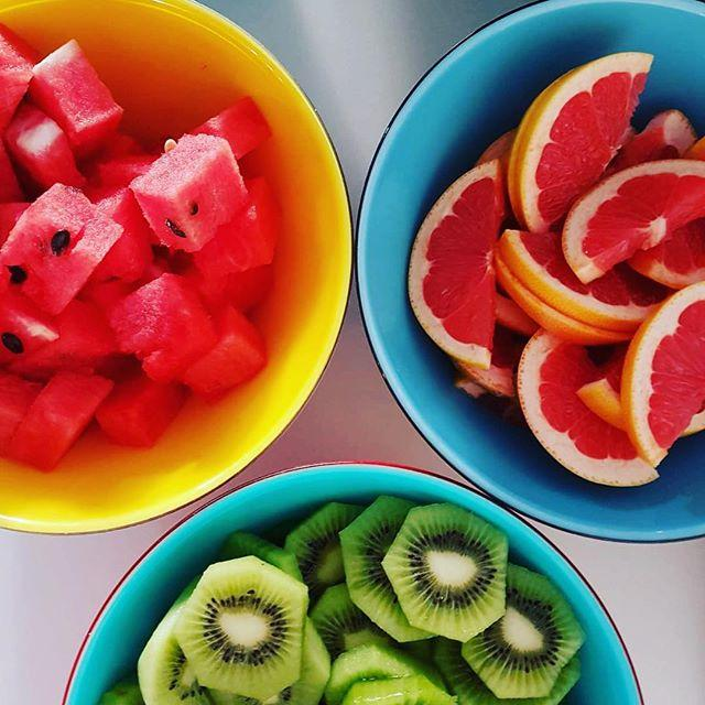 Summer is here! Enjoy our delicious fresh fruit every morning!