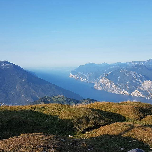 A stunning morning shot from Monte Stivo! A short trek will take you from Santa Barbara to the Rifugio Marchetti, where you can taste delicious food whilst admiring the view over Lake Garda! You should try it