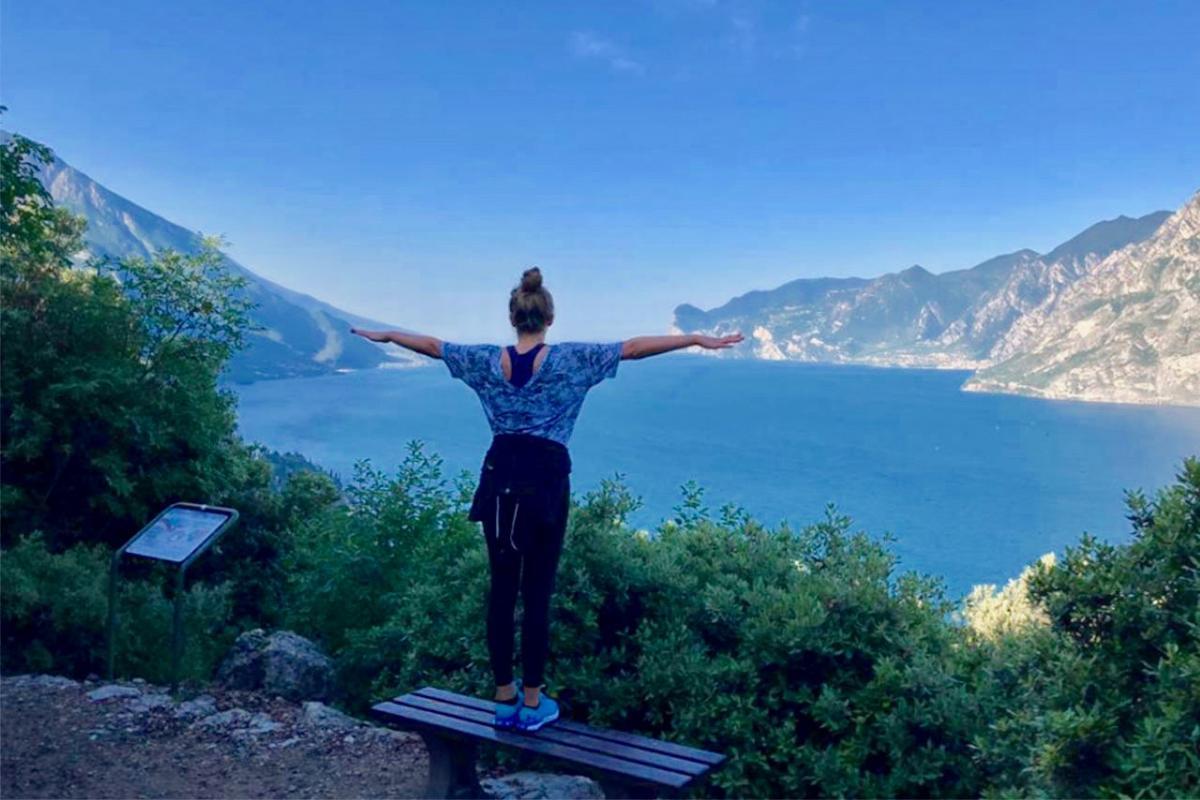 Walking on Lake Garda? The Busatte-Tempesta route!