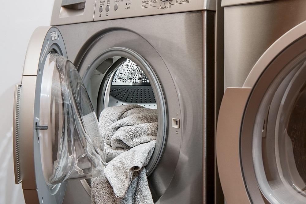 Self-Service Wäscherei