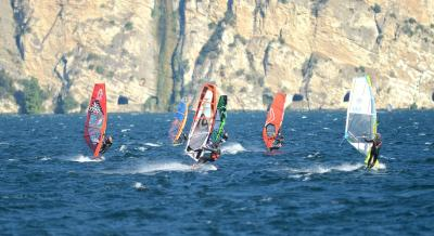 Best windsurf in Torbole with Hotel Santoni