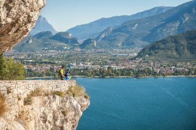 Biking Garda Lake
