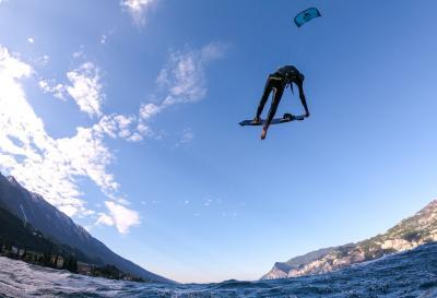 Kite Surf sul Lago di Garda Hotel Santoni