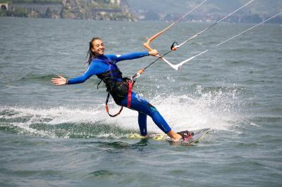 Kite surf Lago di Garda Hotel Santoni