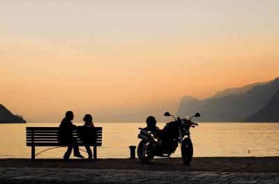 mototurismo Lago di Garda Hotel Santoni