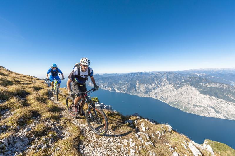 Biking Garda Lake